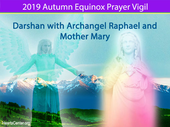 Darshan with Archangel Raphael and Mother Mary (VIDEO)