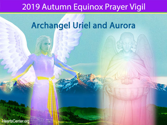 Uriel and Aurora Bring the Light of Peace to Sustain the Light of God Within Us (VIDEO)