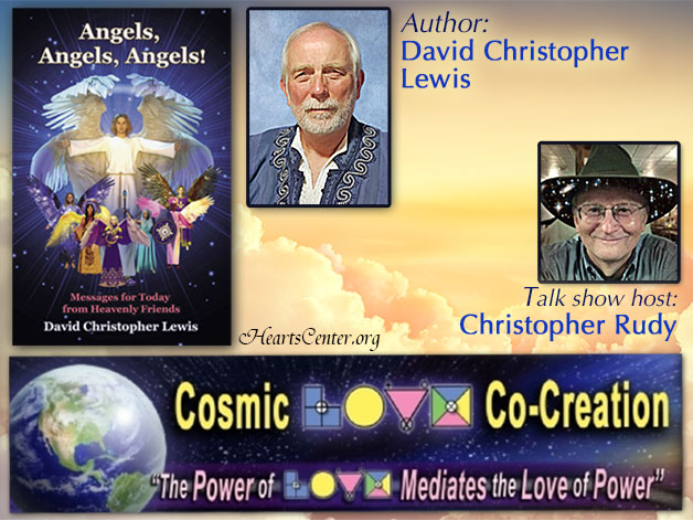 Interview on Radio Show Cosmic Love - Angels, Angels, Angels! (VIDEO)