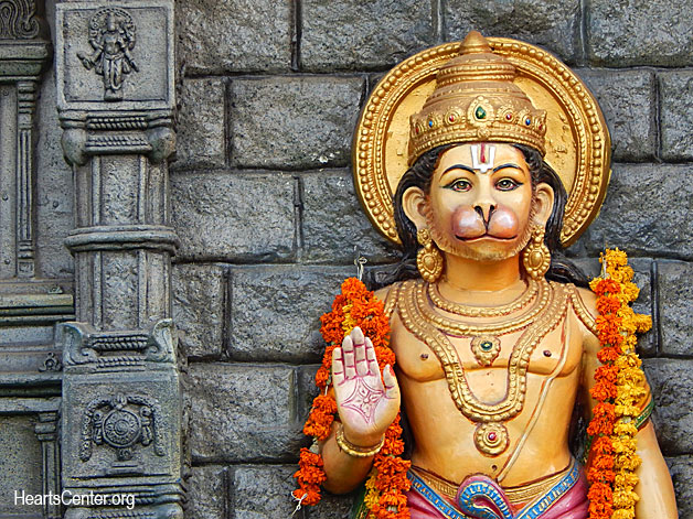 Receive the Support of Hanuman in the Unfolding of the Gifts of Spirit Within (VIDEO)