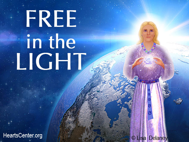 The Divine Director Shows Us the Grand Vision of Earth Free in the Light (VIDEO)
