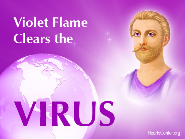 Saint Germain Blazes the Freedom Flame into the Coronavirus and the Earth (VIDEO)