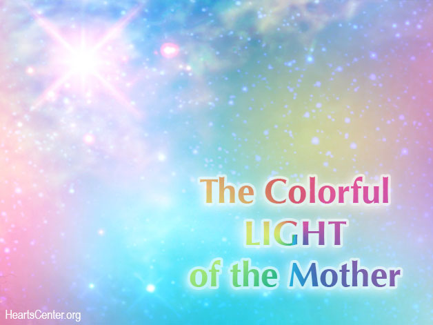 Aeneaus Radiates the Colorful Light of the Mother (VIDEO)