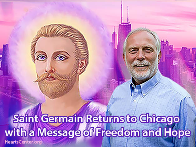 Saint Germain Returns to Chicago with a Message of Freedom and Hope (VIDEO)