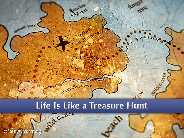 The Life of the Initiate is Like a Treasure Hunt (VIDEO)