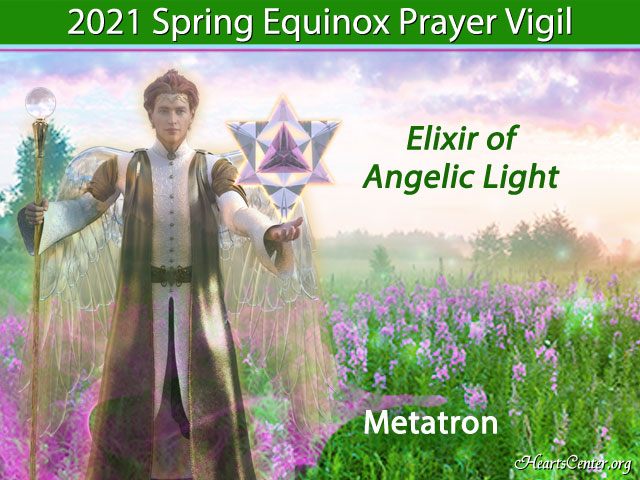 Metatron Offers Us an Elixir of Angelic Energy and Increases Our Awareness of Our God Presence (VIDEO)