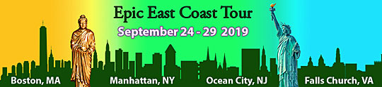 2019 epic East coast Tour