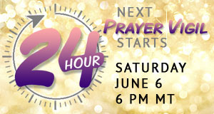 June 24 hour Hearts Center Prayer Vigil