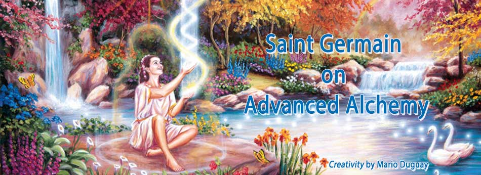 Saint Germain on advanced Alchemy Book