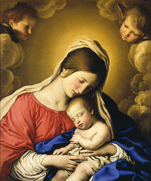 Madonna and Child (Sassoferrato)