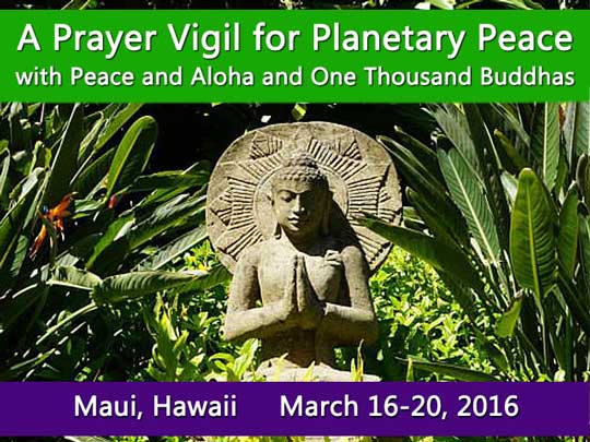 Maui Prayer Vigil March 2016