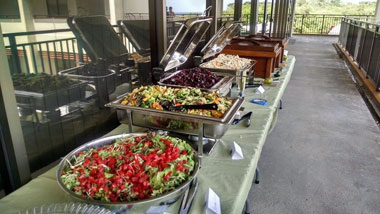 Catered Meals Included at Spring Event in Hawaii