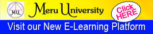 Visit the New Meru University Learning Platform