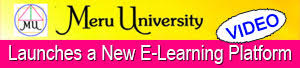 View an introductory video of the New Meru University LMS