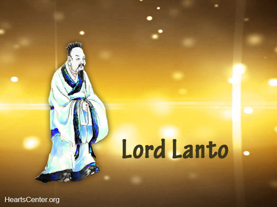Lord Lanto Chohan of the Second Ray Ascended Master