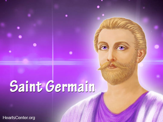 Saint Germain Ascended Master and Chohan Lord of the Seventh Ray